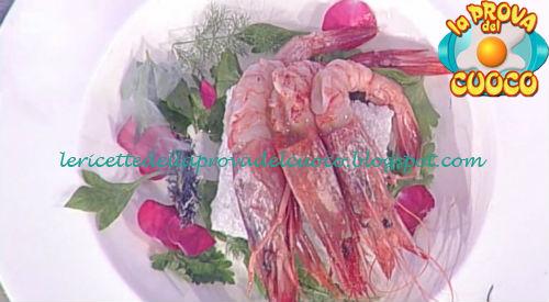 Prova del cuoco - Ingredienti e procedimento della ricetta Gamberoni al sale di Gianfranco Pascucci