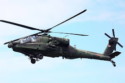 Teknologi militer Indonesia terbaru AH-64E Apache Guardian TNI AD Telah Genap 8 unit, Empat Helikopter Dipasangi Radar AN/APG-78 Longbow