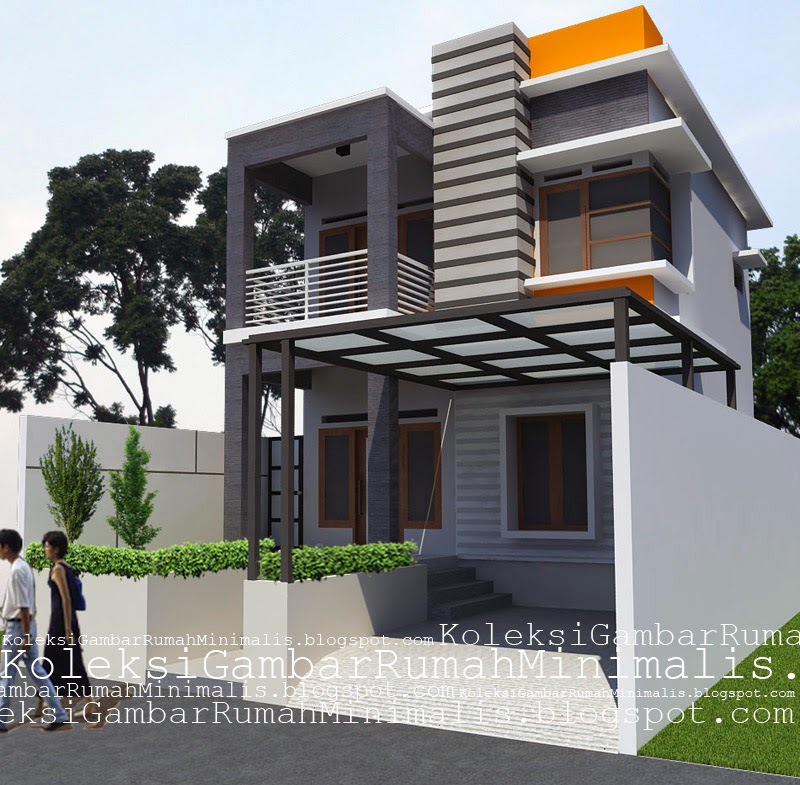 Rumah  Idaman  Minimalis  Sederhana  2 Lantai  Contoh  Rumah