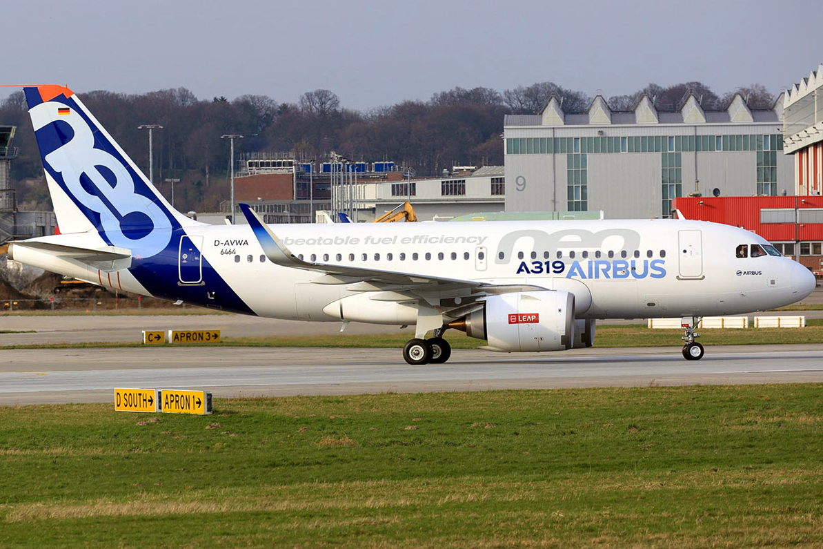 EASA Certified Pratt-Whitney Enginer for Airbus A319neo