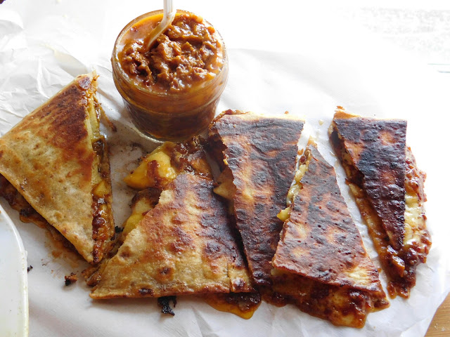 Apple and Bacon Jam Quesadillas