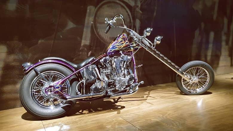 1941 Harley-Davidson knucklehead chopper