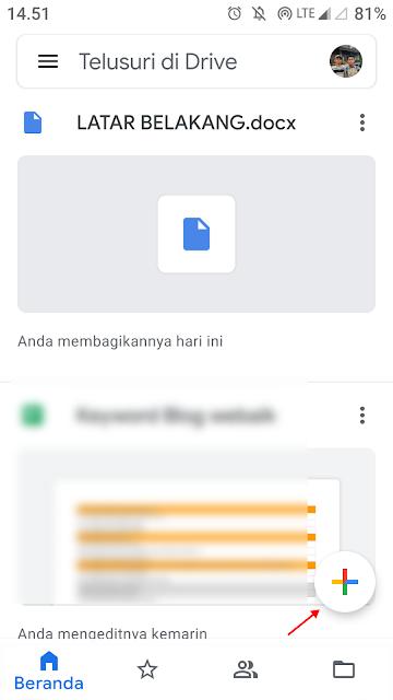 Cara Upload File di Google Drive Agar Bisa di Share / Download
