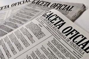 """Resultado de imagen para """"gaceta oficial"""" site:informe25.com"""
