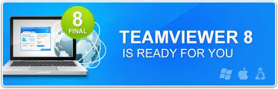 Download TeamViewer 8 released
