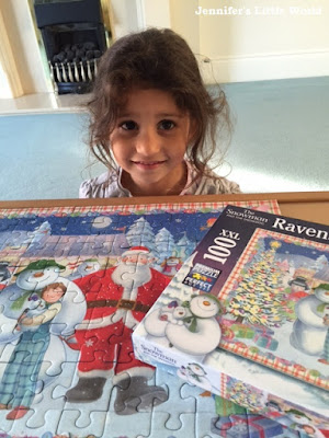 Snowman and the Snowdog jigsaw from Ravensburger