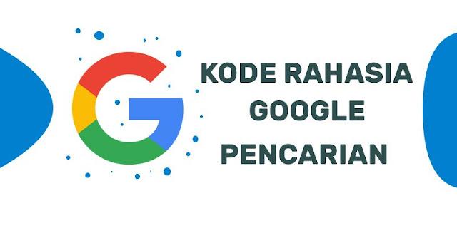 kode rahasia google
