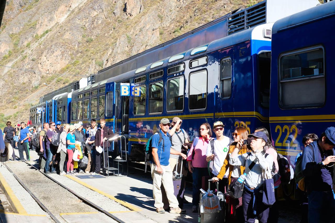 PeruRail Ollantaytambo to Machu Picchu