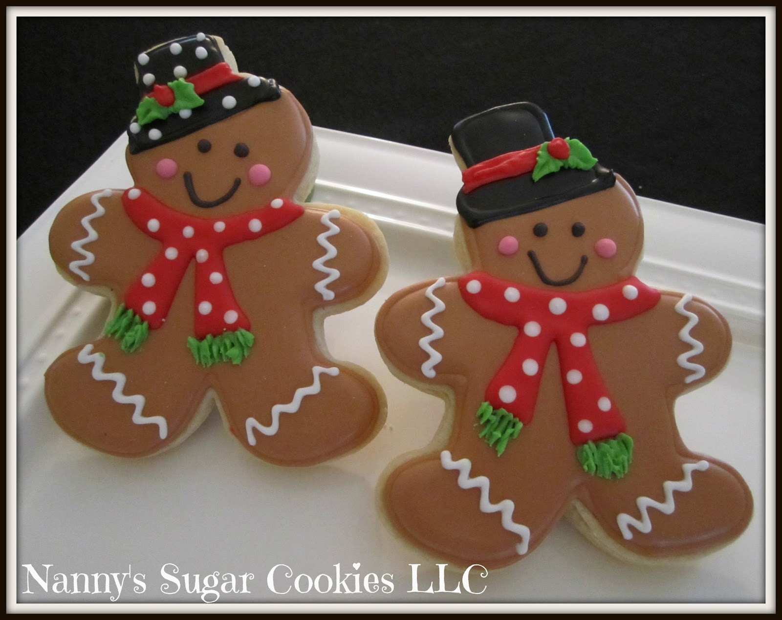 Nanny S Sugar Cookies Llc The Gingerbread Men Of 2016