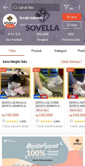 Shopee Sovella Indonesia