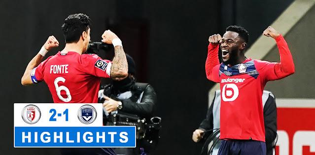 Lille vs Bordeaux – Highlights