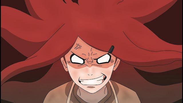 karakter anime cantik marah