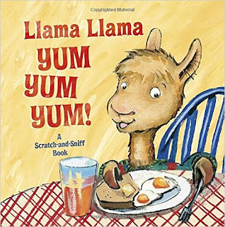 Get cooking with Llama Llama in this scratch-and-sniff board book!   Llama Llama and his Mama are in the kitchen whipping up some delicious treats! Join in the fun by reading along with this super-sweet story and scratching and sniffing the fun scents on each spread, like pickles and ice cream sundaes!
