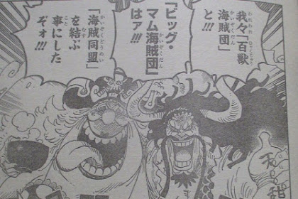 Inilah Spoiler Manga One Piece Chapter 954