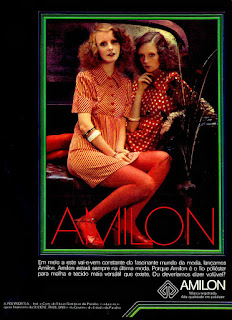 Amilon,  Moda anos 70; propaganda anos 70; história da década de 70; reclames anos 70; brazil in the 70s; Oswaldo Hernandez