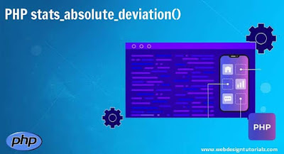 PHP stats_absolute_deviation() Function