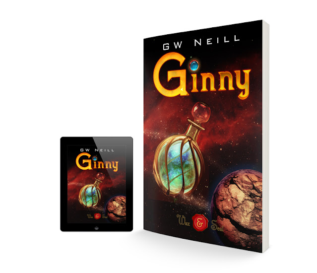 Ginny / Book Cover Design