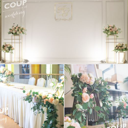 Wedding Decoration - French Wall