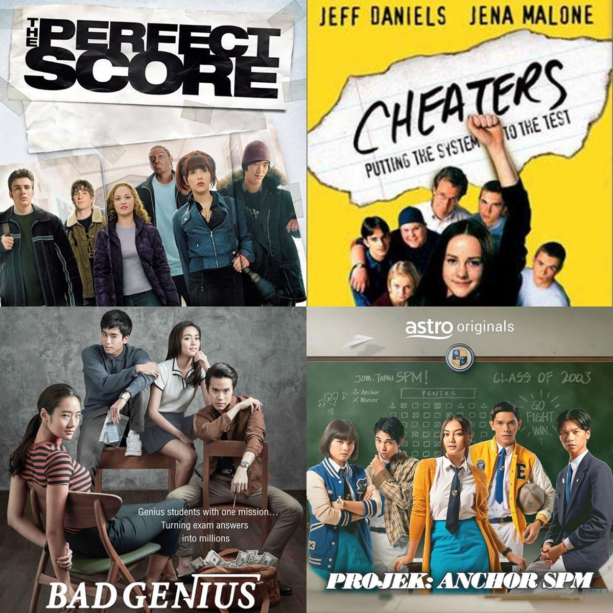 Projek Anchor SPM-Bad Genius-Cheaters-The Perfect Score