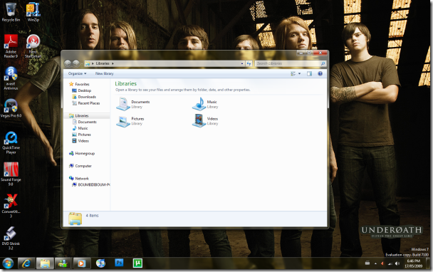 Underoath Theme For Windows 7 By ~Bobmat4