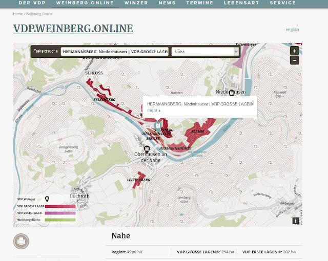 VDP Weinlagenkarte Hermannsberg