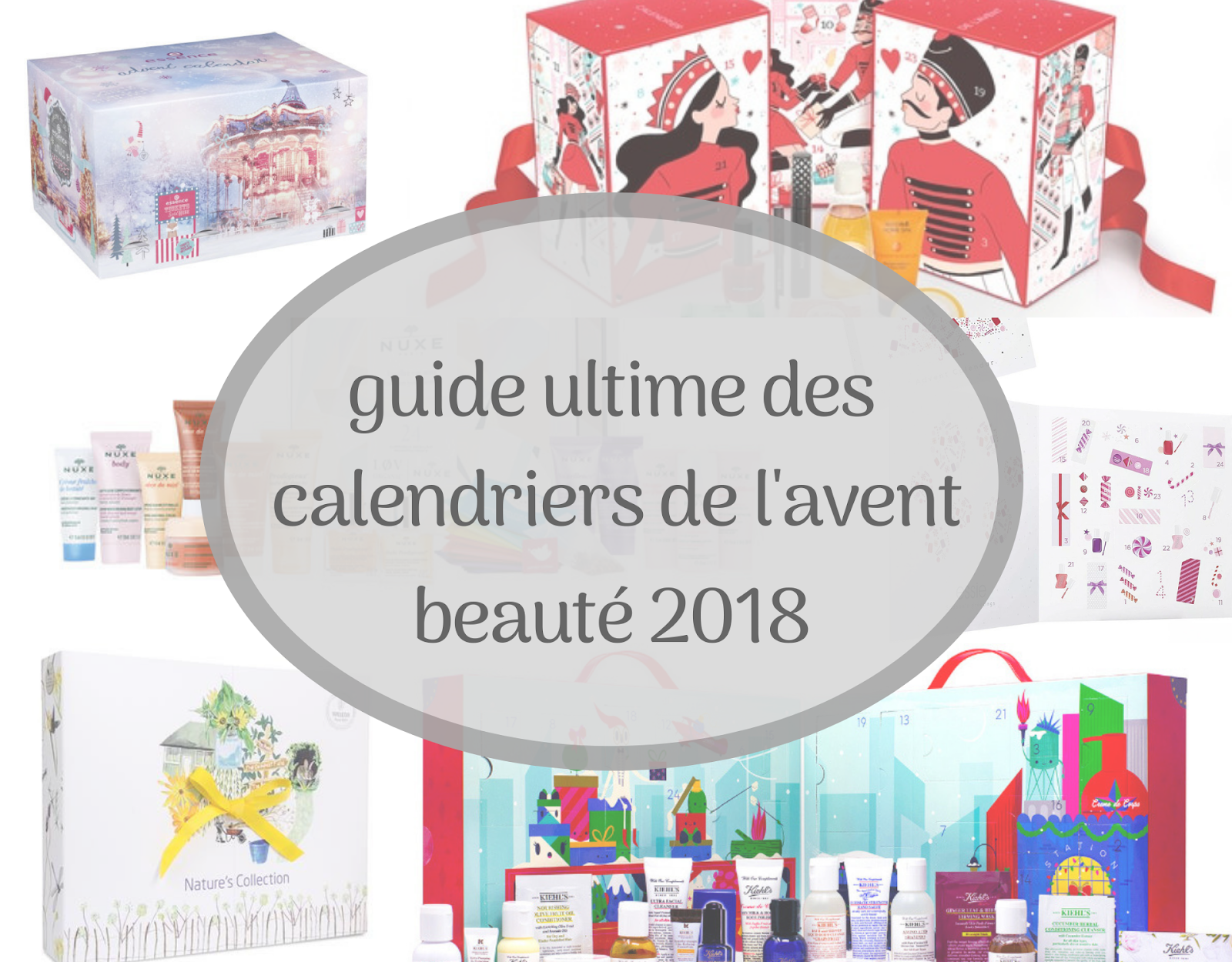 guide calendriers avent 2018