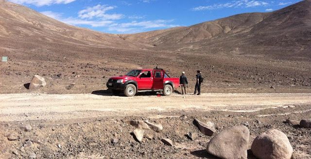 The hyperarid core of the Atacama Desert. Credit: Dirk Schulze-Makuch