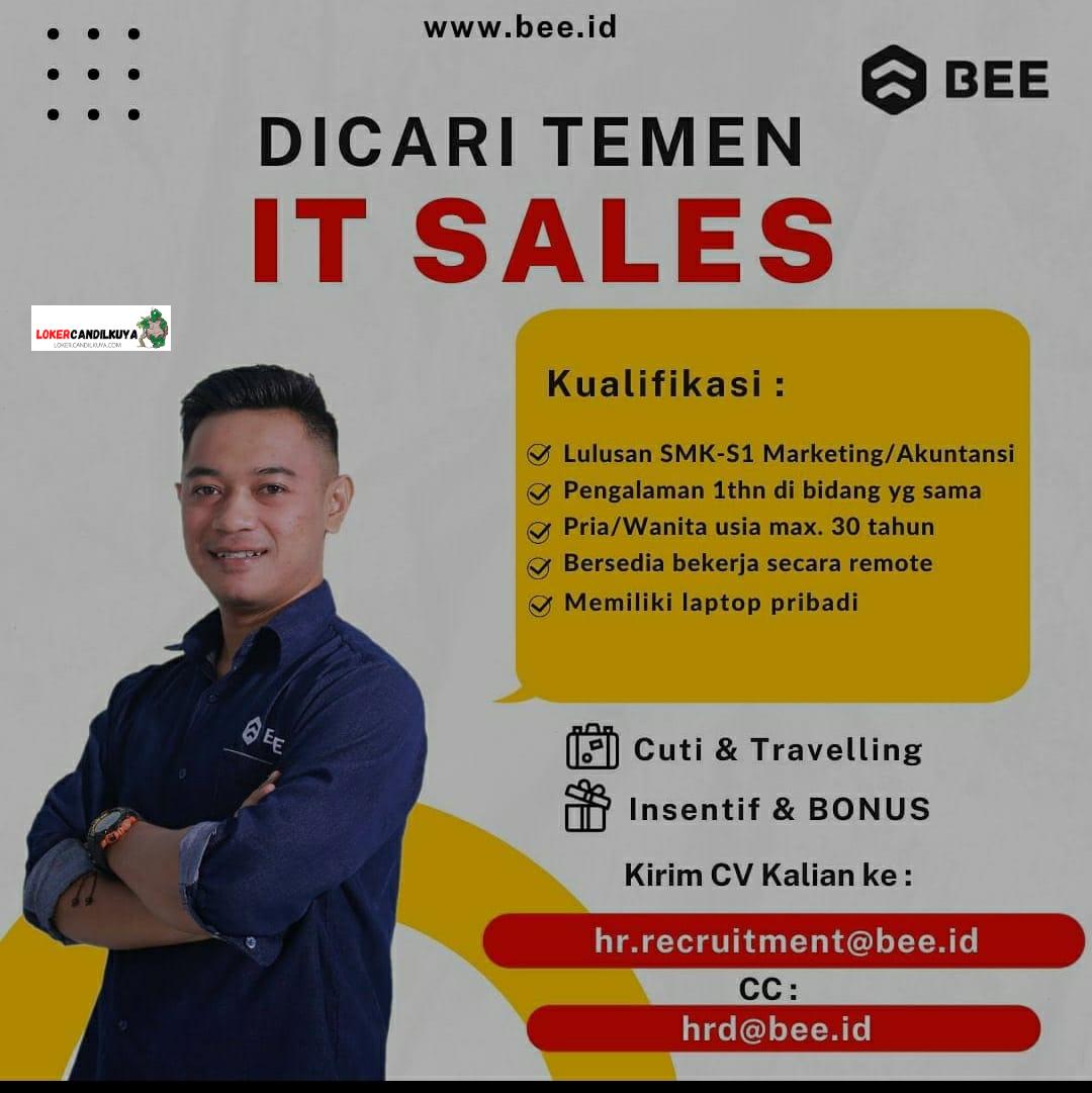 Lowongan Kerja IT Sales