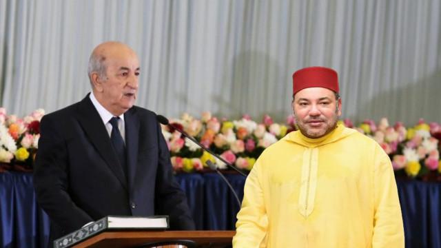 الرئيس تبون يؤكد على حسن العلاقة بين الجزائر والمغرب