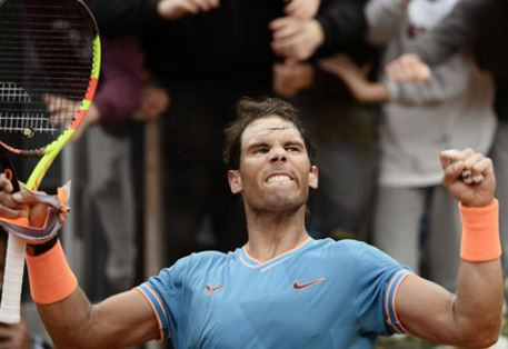 Rafael Nadal defeats Novak Djokovic to win Rome Title