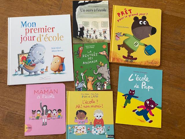 1ère rentrée en maternelle : sélection de livres