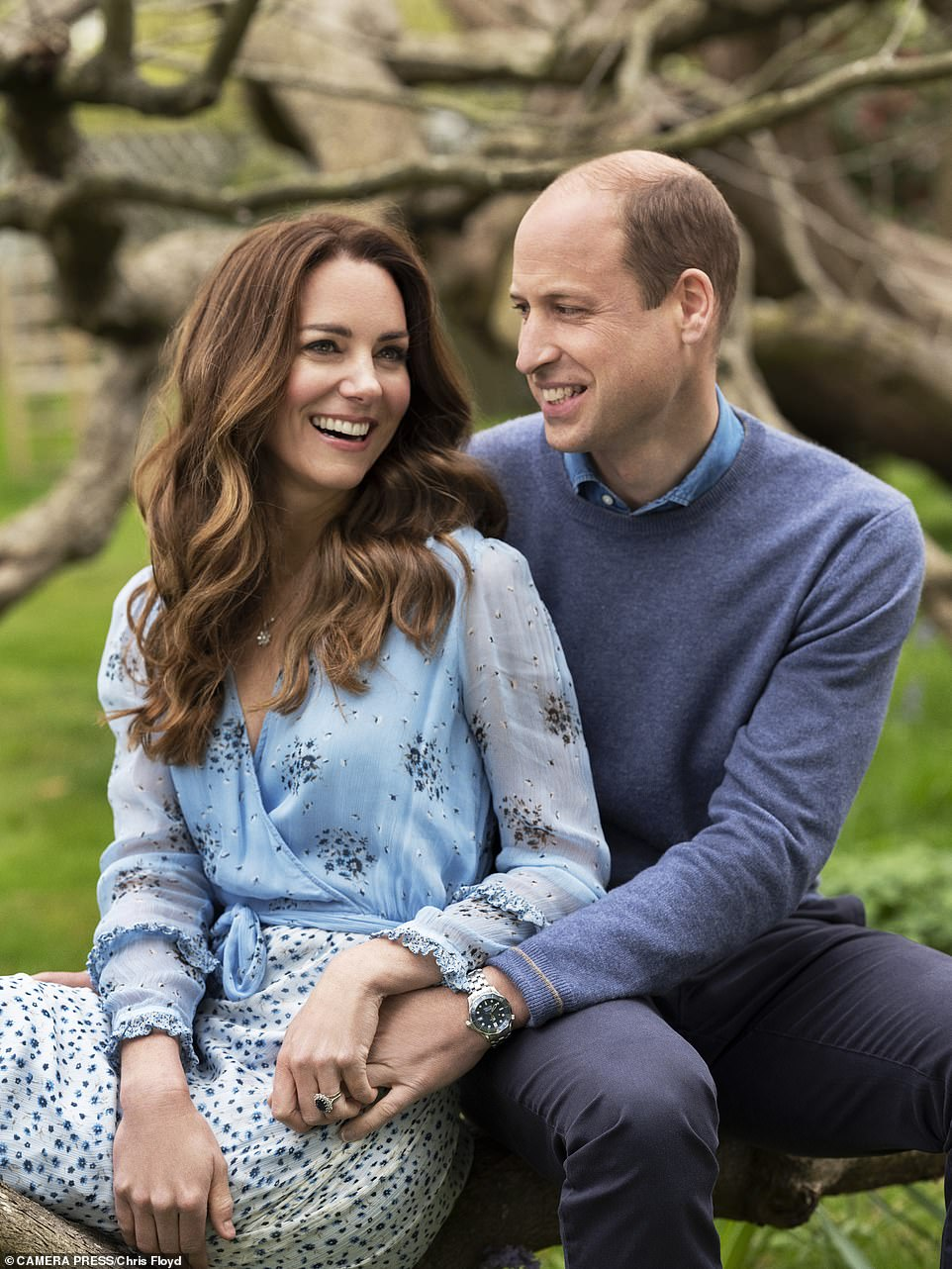 10th Wedding Anniversary Picture for Duchess Kate and Prince William