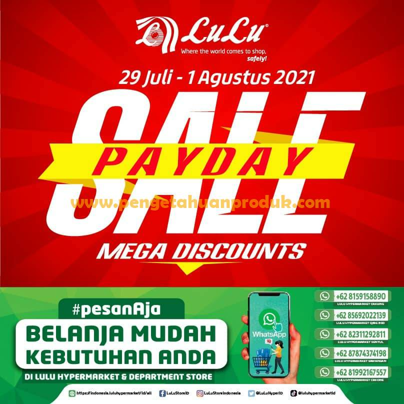 Promo Lulu Hemat Mingguan JSM Periode 29 Juli - 1 Agustus 2021