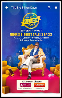 Flipkart Sale - Big Billion Days