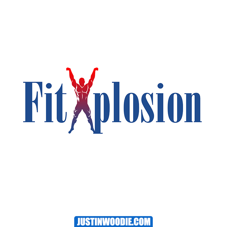 Fit Xplosion Graphic Logo Design