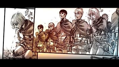 アニメ進撃の巨人3期53話感想 エルヴィンのスピーチで特攻した新兵