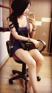 Gái xinh facebook Trang Miu