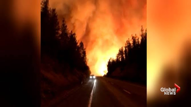 Northern California wildfire rages on as death toll grows to 5