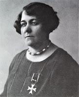 Helena Romer-Ochenkowska z Orderem Polonia Restituta