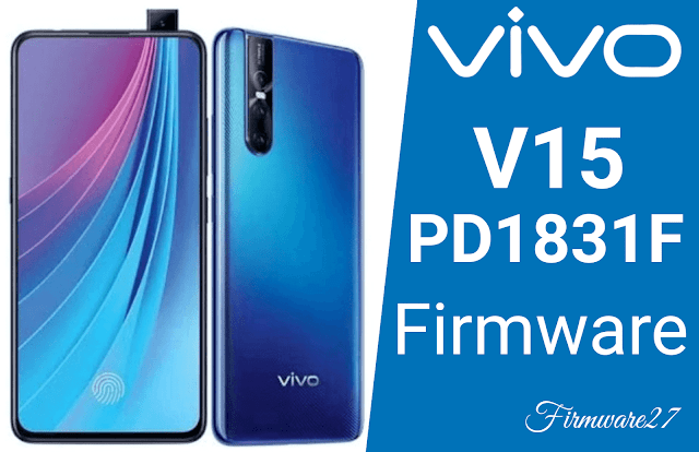 Firmware Vivo V15 (1819) PD1831F Mediatek