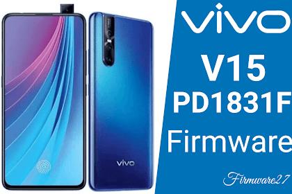 Firmware Vivo V15 (1819) PD1831F Mediatek