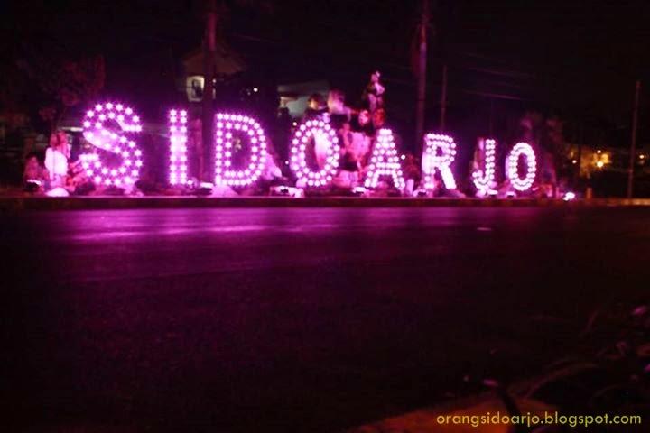 Kabupaten Sidoarjo Lampu Hias Kota Sidoarjo
