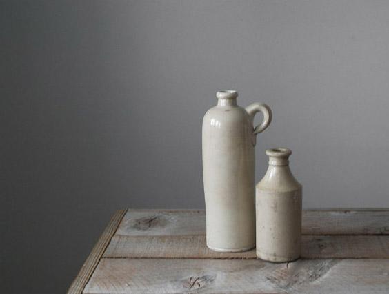 collection bouteilles en grès vintage lovmint