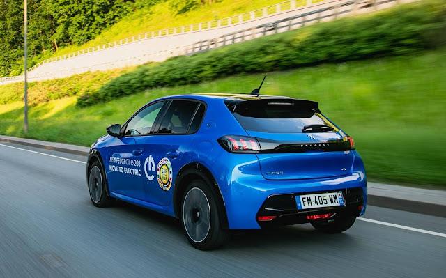 Novo Peugeot e-208 2021 elétrico - Brasil