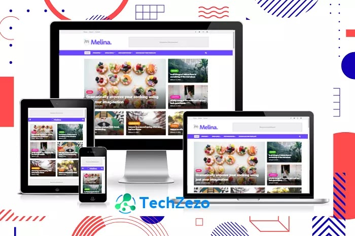 Melina Blogger Template Premium V2.0 Free Download