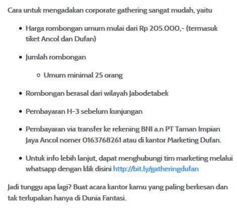 Promo Harga Tiket Dufan Terbaru September 2019