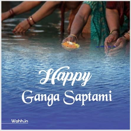 Ganga Saptami Wishes Pics