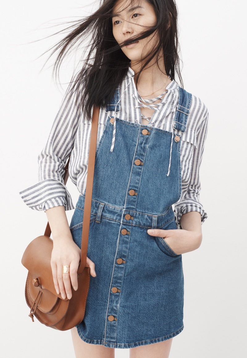 Madewell Denim Summer 2016 Lookbook featuring Liu Wen