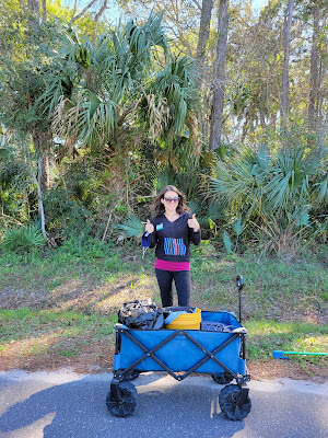 Volunteer at West Augustine Nature Society Clean-Up Event