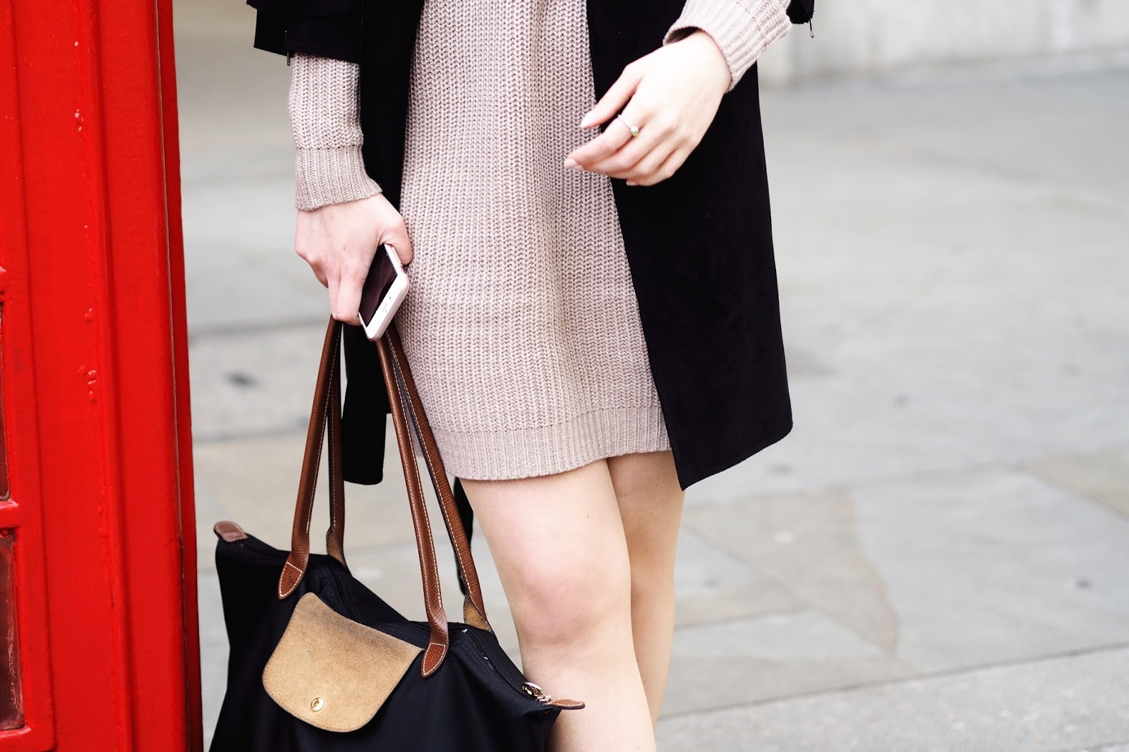 Petite jumper dresses autumn winter fashion style bloggers blog post ASOS Daniel Wellington discount code november 2017